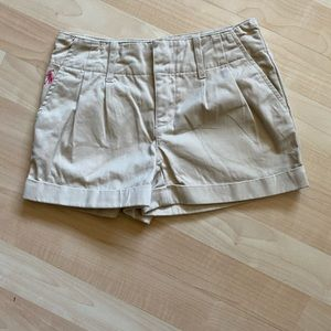 Polo Ralph Lauren Girls Pleated Khaki Shorts 7